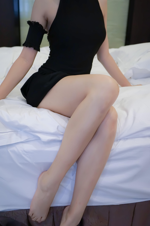 jeAH2U - 【The Girl Theater】 少女映画 Cosplay saber 黑泳装