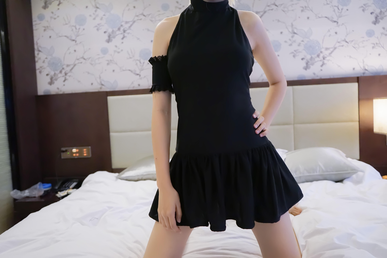 vR7IYF - 【The Girl Theater】 少女映画 Cosplay saber 黑泳装