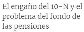 """LB8ljA% - La """"patata caliente"""" de las pensiones"""