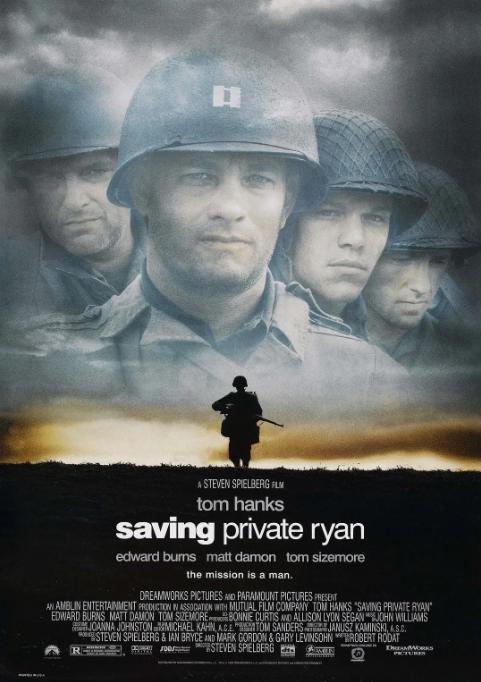 Saving Private Ryan的海报