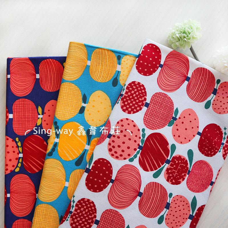 水果串 蘋果花 花朵 串聯 手工藝DIY布料 CF550811