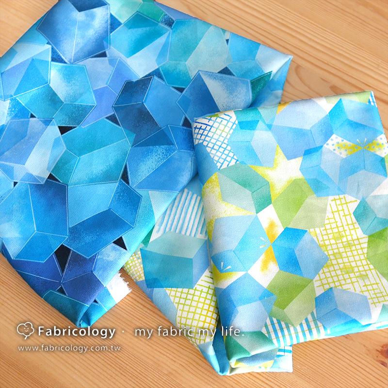 布學盒裝印花布(1y)打翻盒子 手工藝DIY布料 SW001909-7