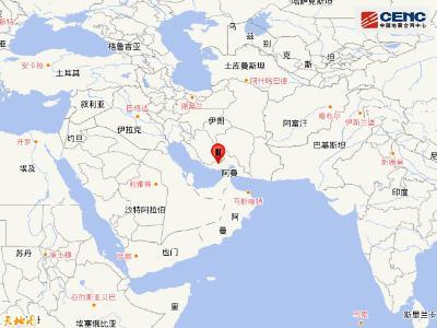 伊朗发生5.3级地震