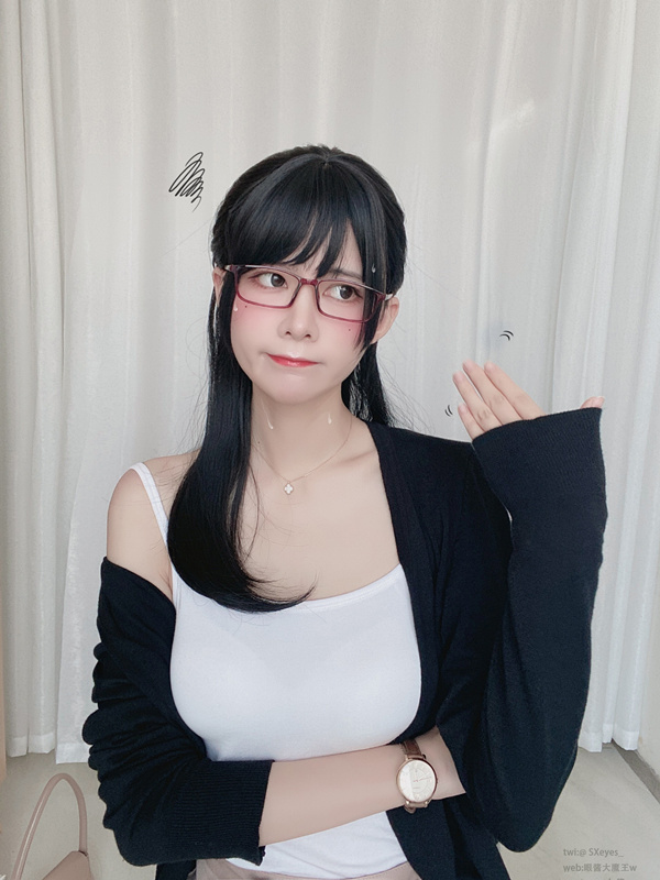 眼酱大魔王w-爱喝可乐的前辈 [30P/467MB