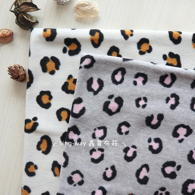 豹紋 動物 刷毛 手工藝DIY布料 LC490064