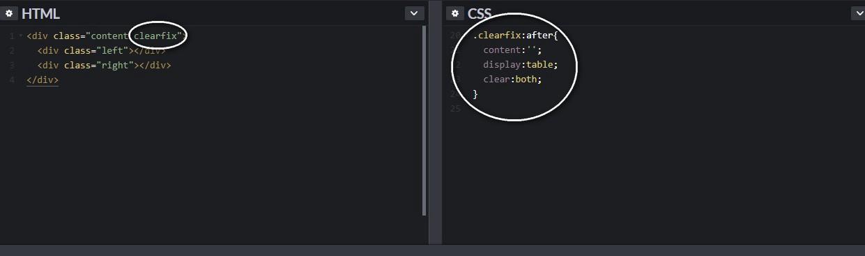 after 僞元素:透過 content 在元素的後面生成了内容爲一個點的區塊元素