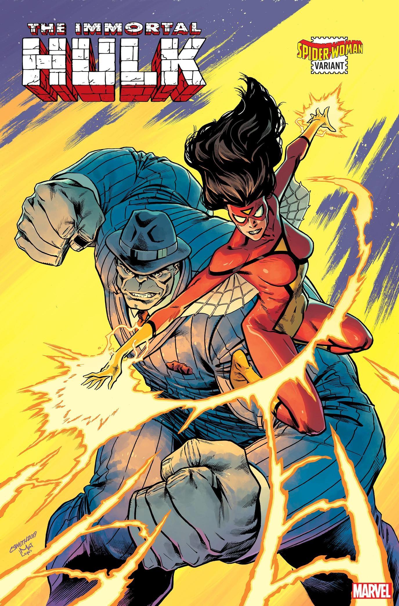 【漫画资讯速递】新《蜘蛛女侠》漫画变体封面 她不是一个人在战斗