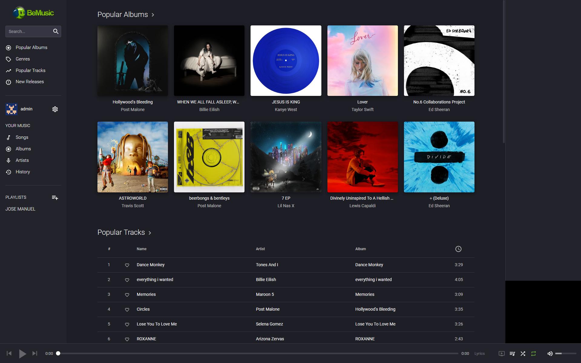 BeMusic v2.4.4 PHP音乐网站源码 音乐流媒体网站源码