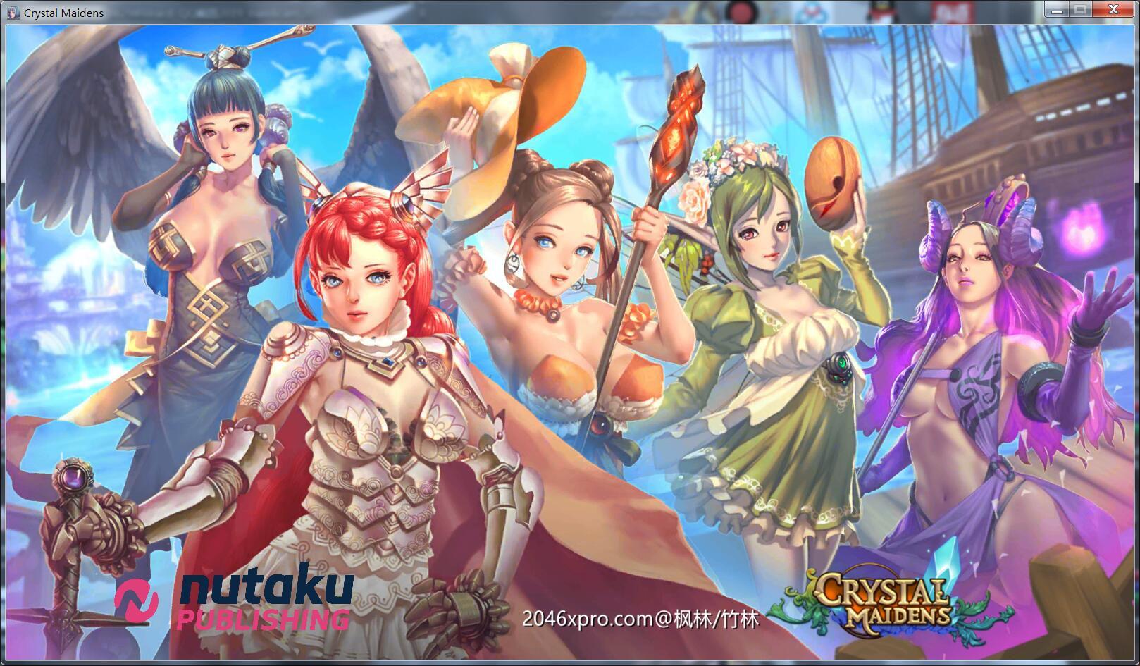 [策略网游/中文/全动态]水晶少女 Crystal Maidens V.1.8 高压中文版[PC+安卓][300M] - 咿呜游戏