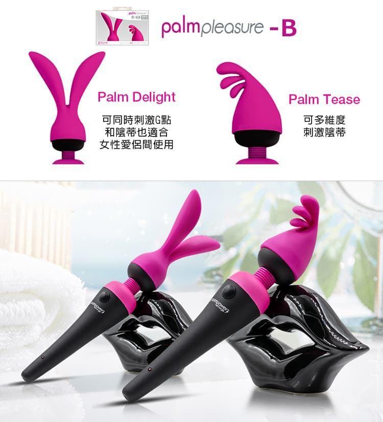 palmpower-AV女優高潮棒頭套2入-B款產品規格