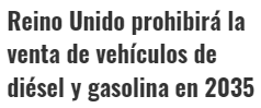 UK quiere cargarse el diesel y la gasolina
