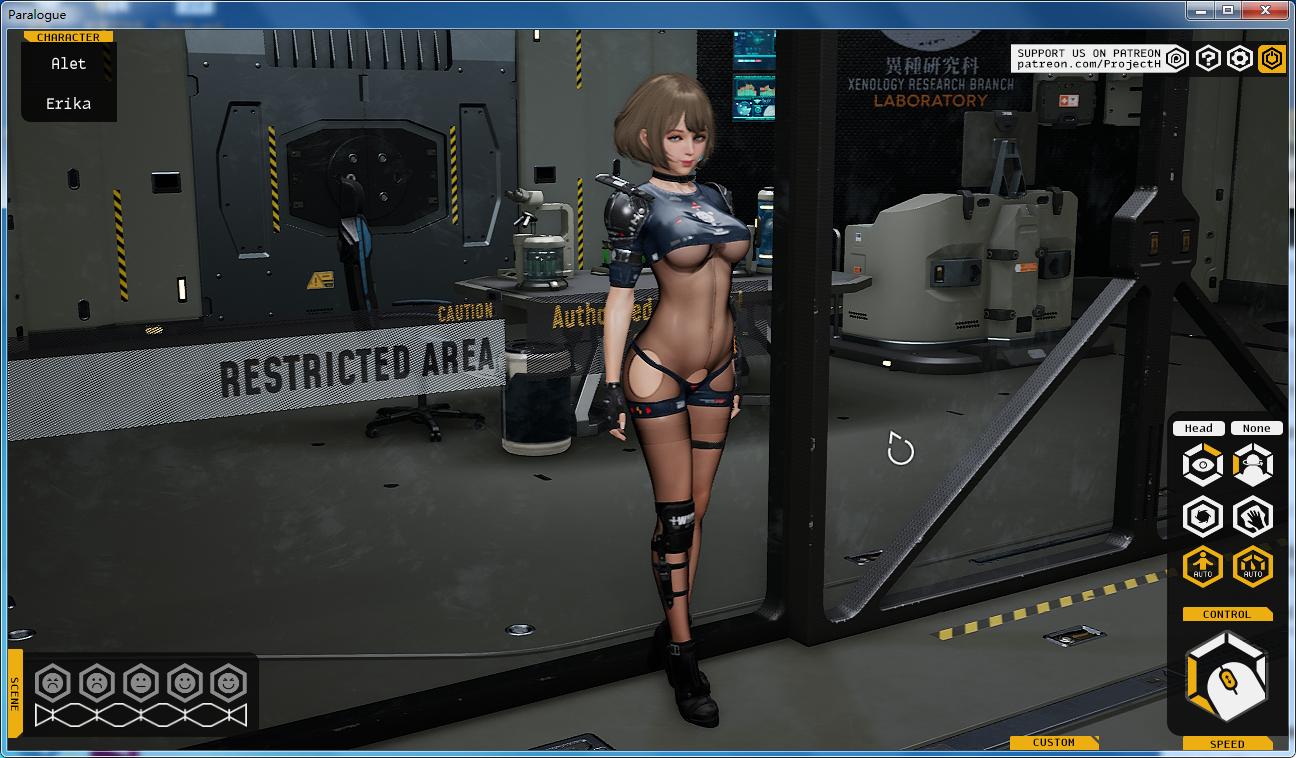 [3D互动]堕落玩偶女2号:Paralogue Ver0.24 破解版(3G)