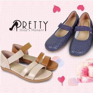 PRETTY 流行國民休閒鞋