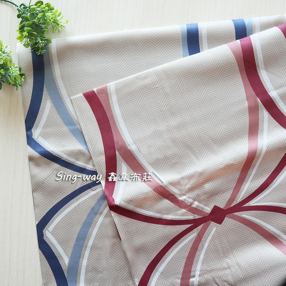 燈籠圓 簡約 精梳棉床品床單布料 CA520018