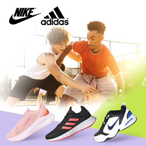 Nike.adidas 運動鞋包服飾