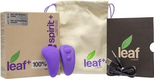 潘美爾 leaf spirit夏娃精靈之葉 無線遙控按摩器 紫 -WIRELESS REMOTE- 產品開箱