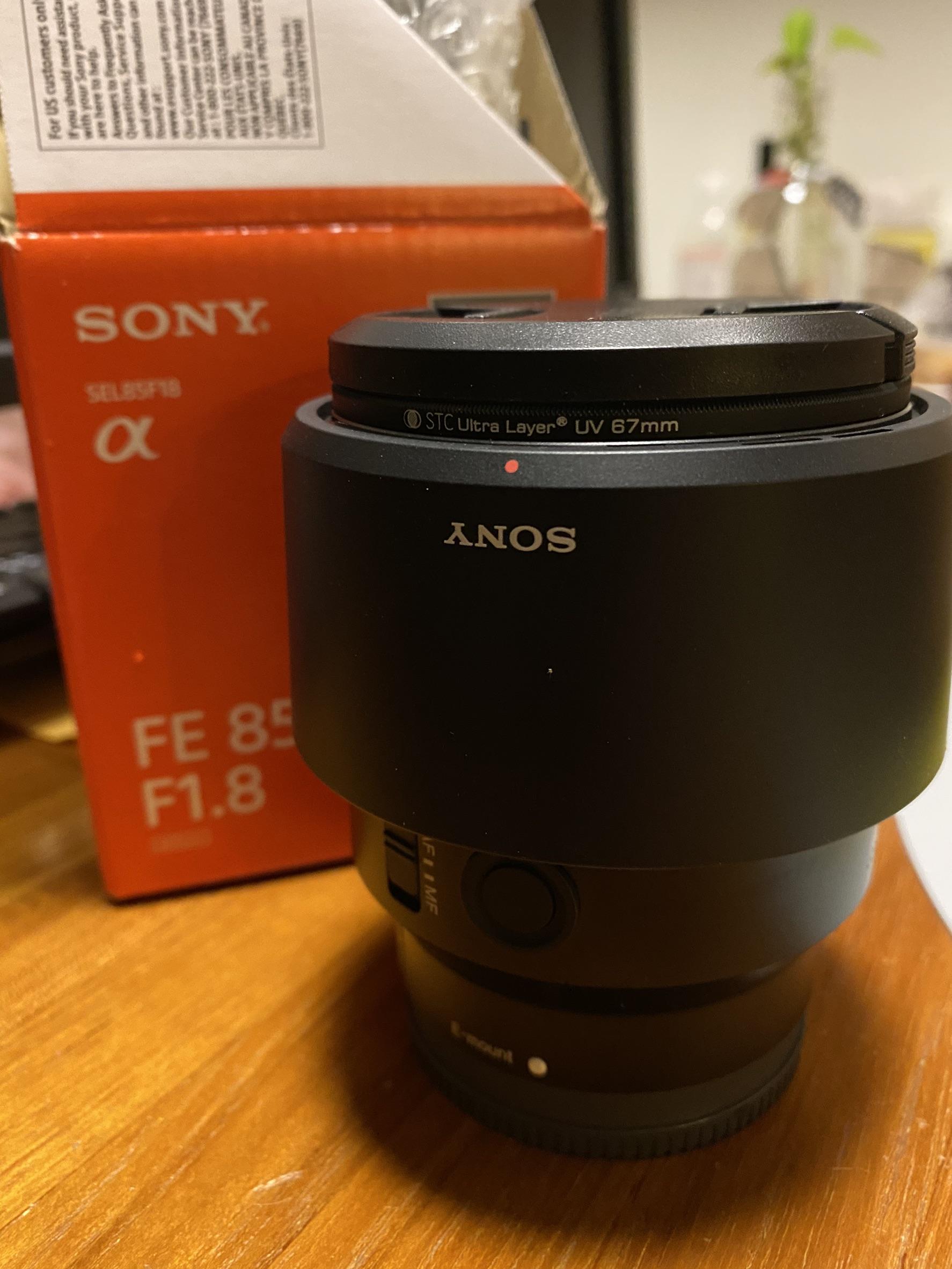 [售/台北] SONY 85mm 1.8及各式裝備出清