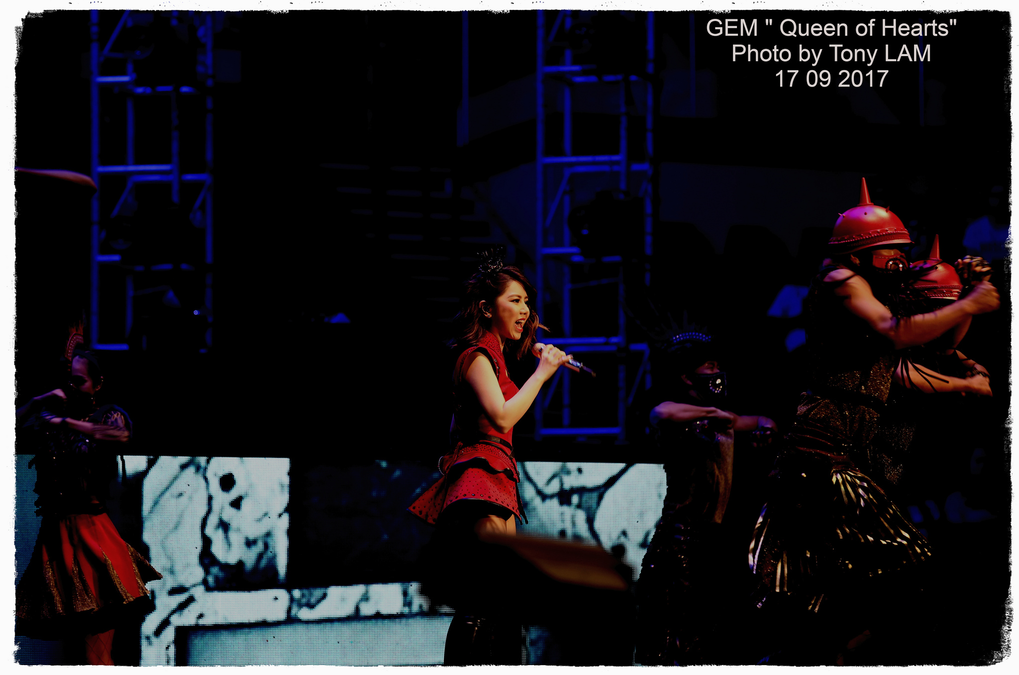 """● 鄧紫棋演唱會 G.E.M """"Queen of Hearts"""" 2017 - 香港拍攝"""