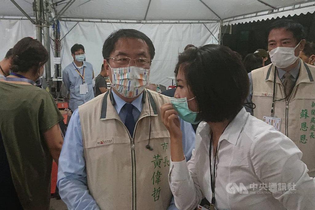 Re: [新聞] 國慶焰火遊客爆量 黃偉哲:坐鎮到疏散完
