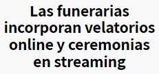 ZheEz9% - Funerarias ... renovarse o morir ...