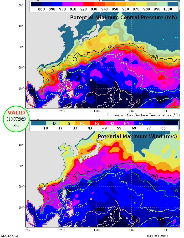 Re: [颱風] 202019 天鵝 (JTWC 10/31 00Z PR)