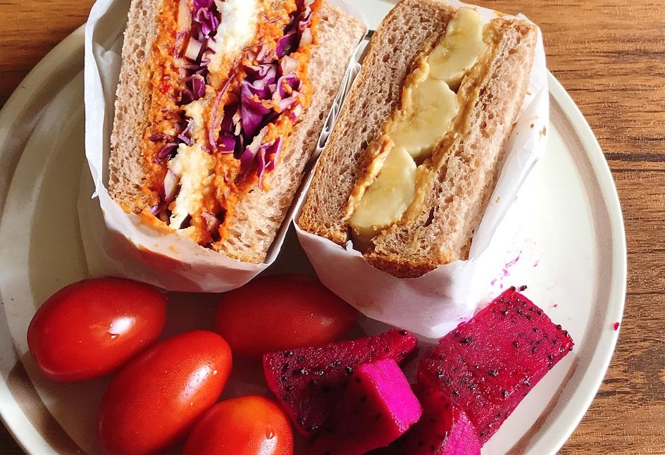 [食譜] 很厲害的烤紅椒堅果醬 變化鯛魚三明治