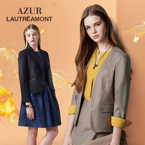 AZUR冬季大衣/洋裝/上衣