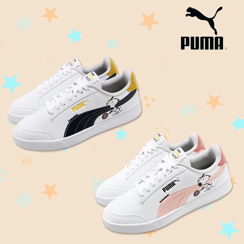 Puma 史努比聯名童趣鞋
