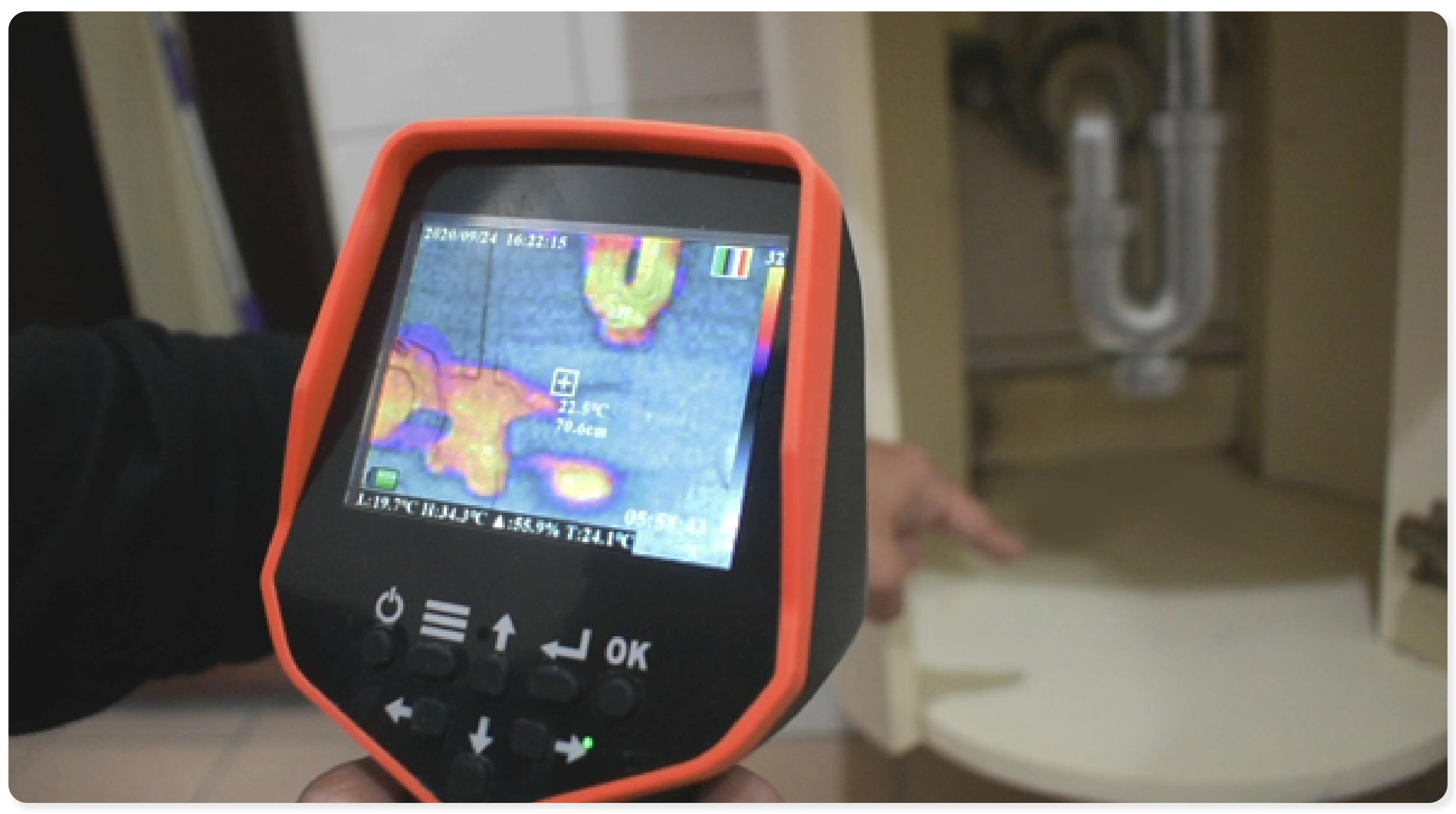 台灣製造NKH1紅外線熱顯像儀
