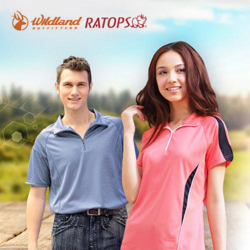 RATOPS 任選2件 男女抗UV機能排汗衫