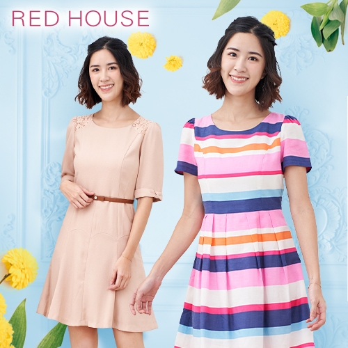 RED HOUSE 春新款洋裝/上衣/圓裙