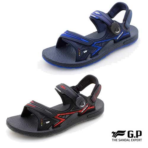 G.P 男款 羽量磁扣兩用涼拖鞋