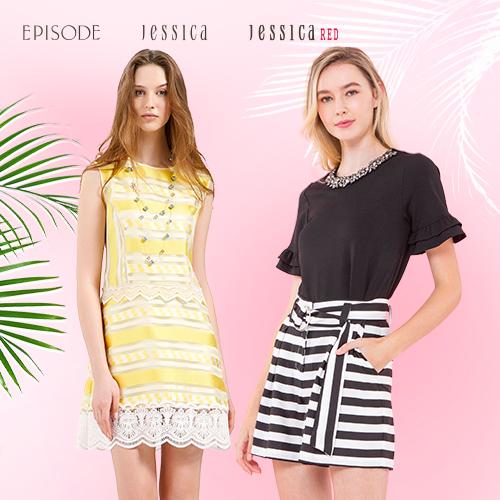 Jesicca x EPISODE 專櫃洋裝/上衣/裙褲