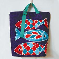 艷色魚兒三用包
