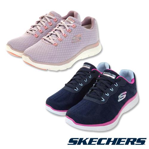SKECHERS 寬楦女款運動鞋