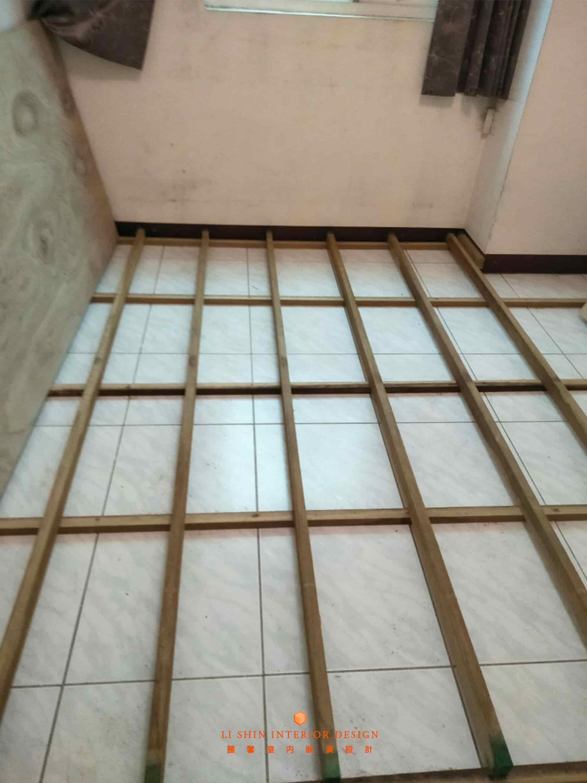架高地板大多都是使用札實穩固的實木角材