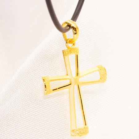 愛無限珠寶 永恆十字吊墜(0.57錢)
