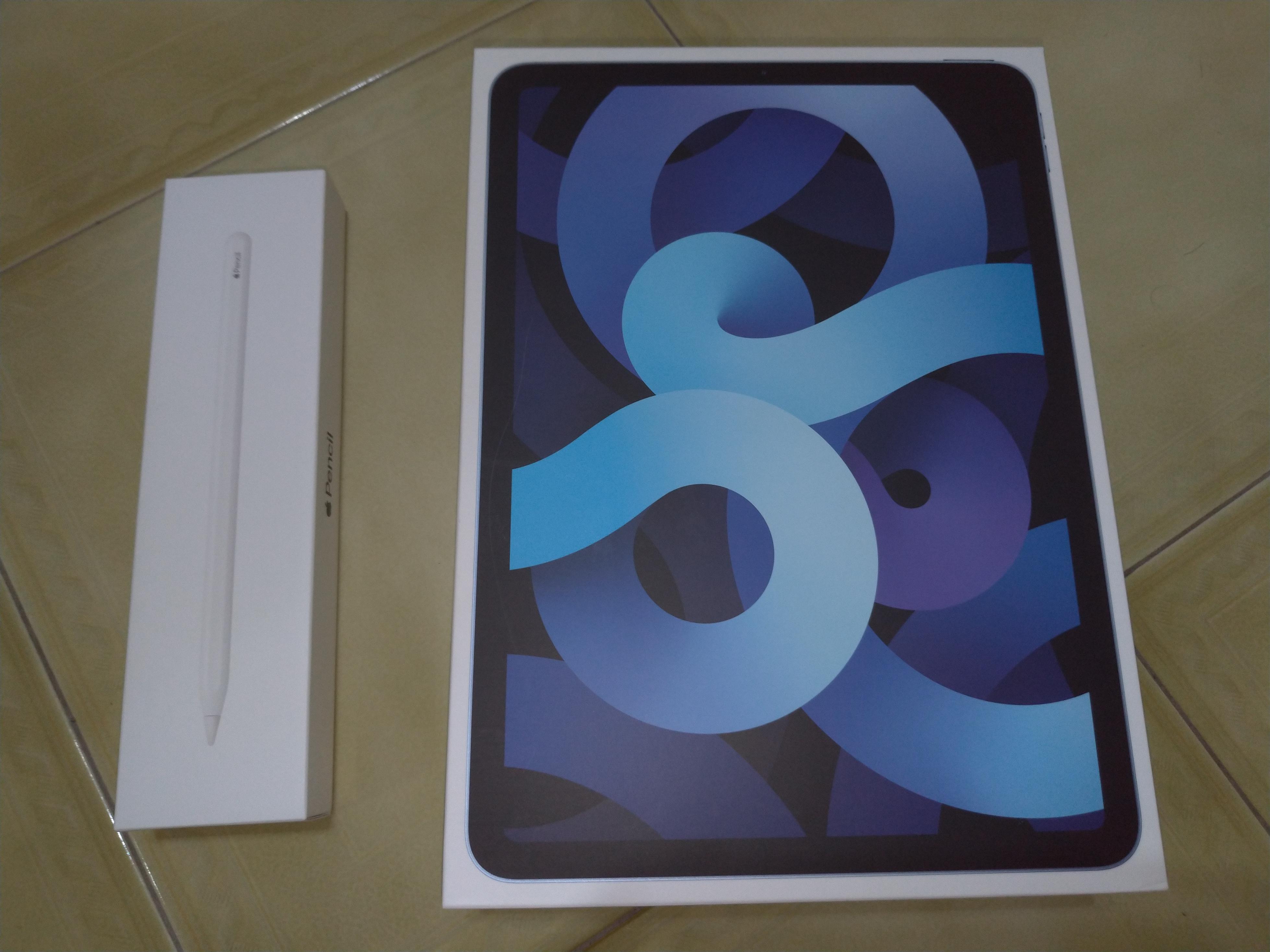 [販售] 高雄 二手IPAD AIR4 64G(藍)+Pencil2