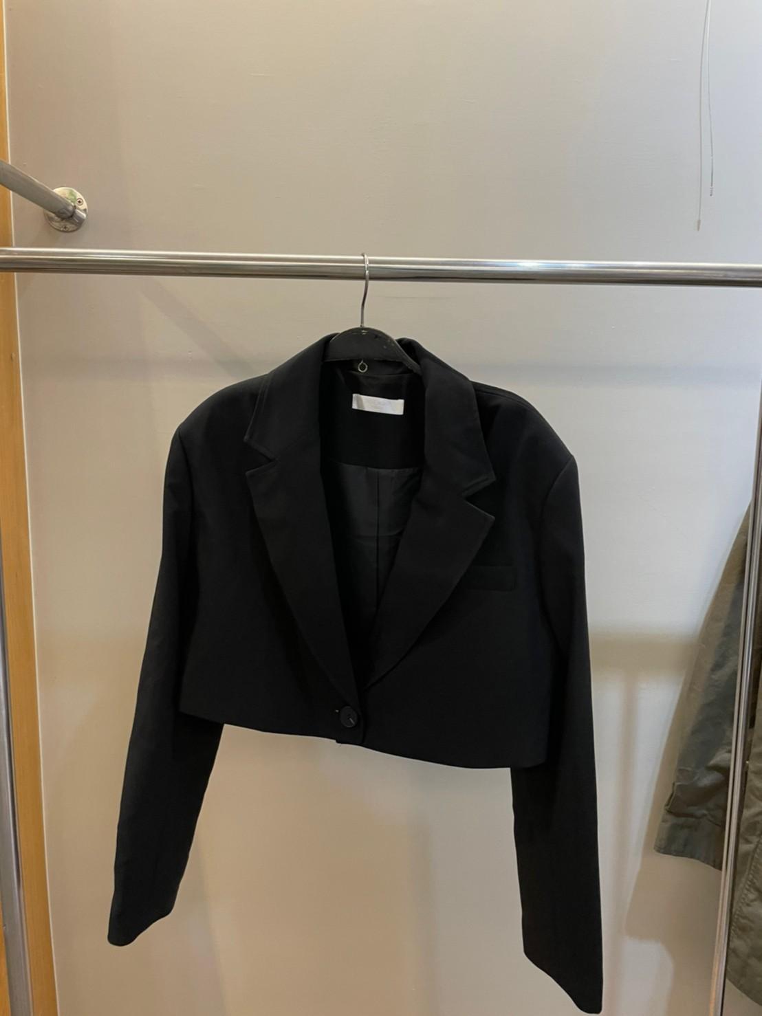 (N27)挺版短西裝外套