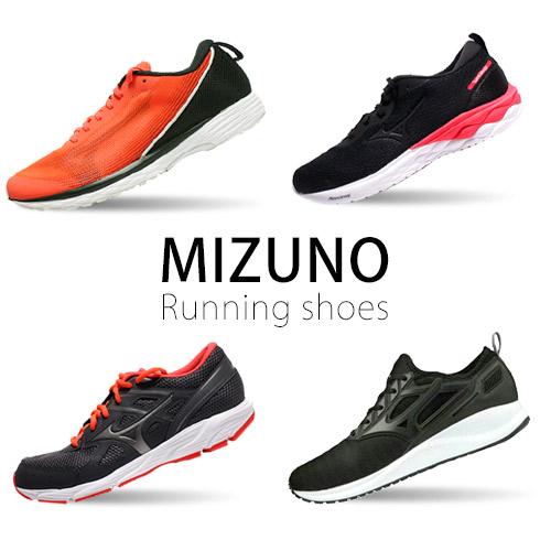MIZUNO 男女款寬楦慢跑鞋