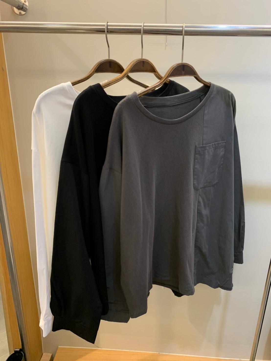 (n02)單口袋圓領衫
