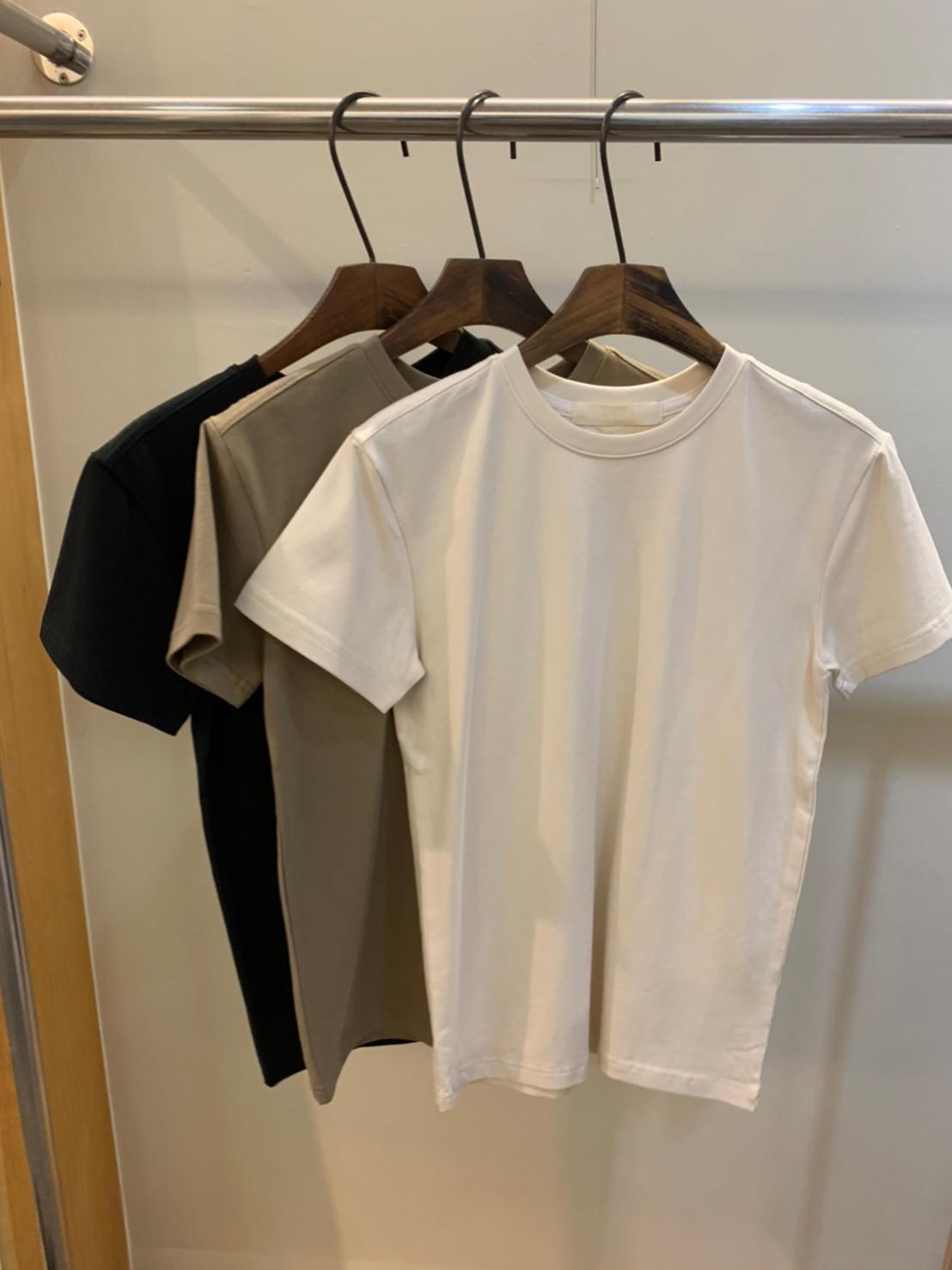 (n01)設計師窄肩膀短袖T
