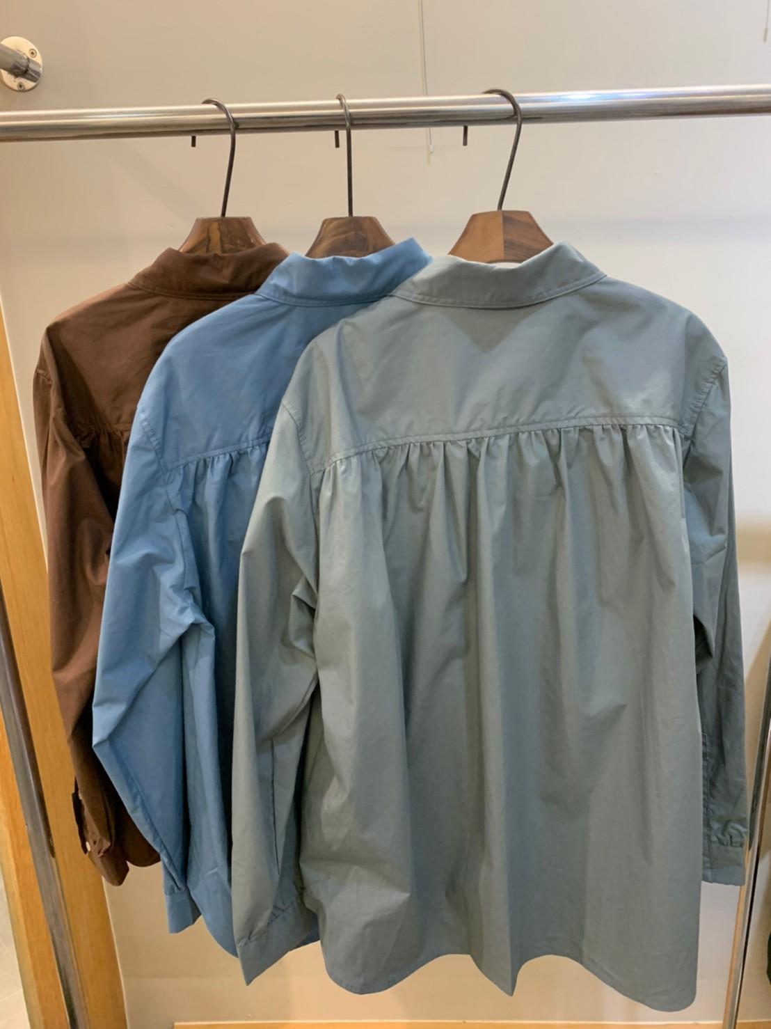 (n11)挺版側開岔襯衫