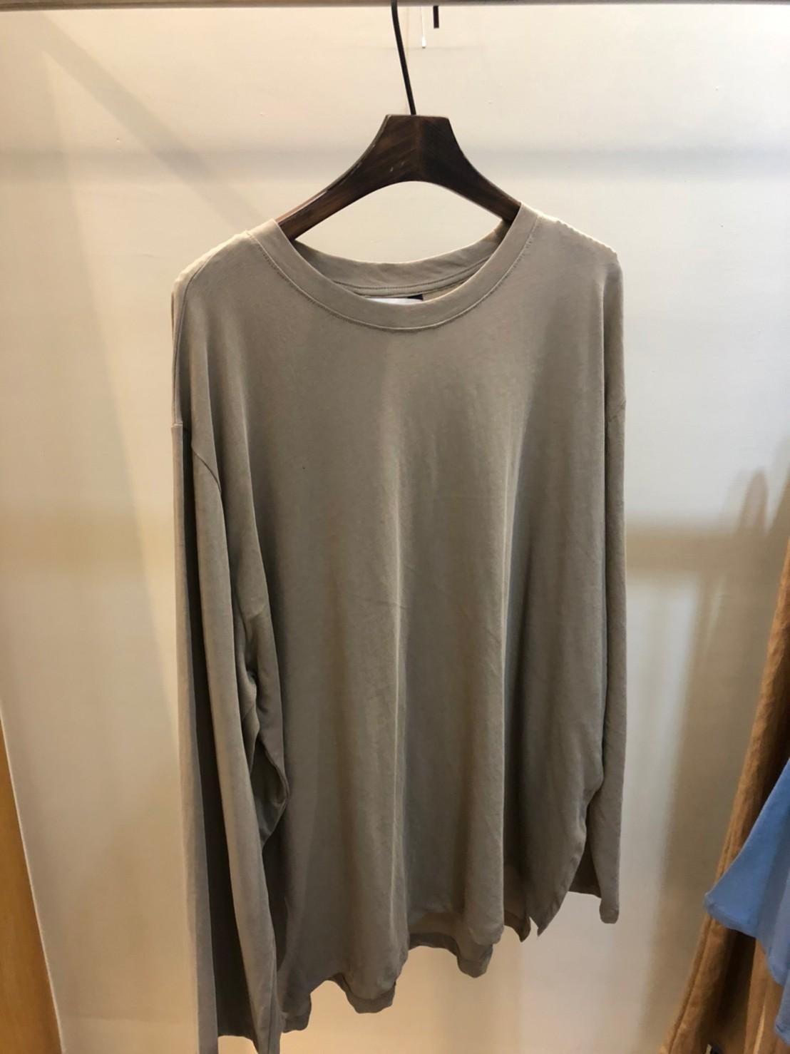 (n17)側開岔混絲長版衣