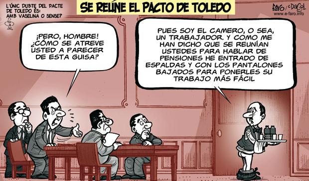 "qYszIr% - Las reuniones del ""Pacto de Toledo"" no avanzan"