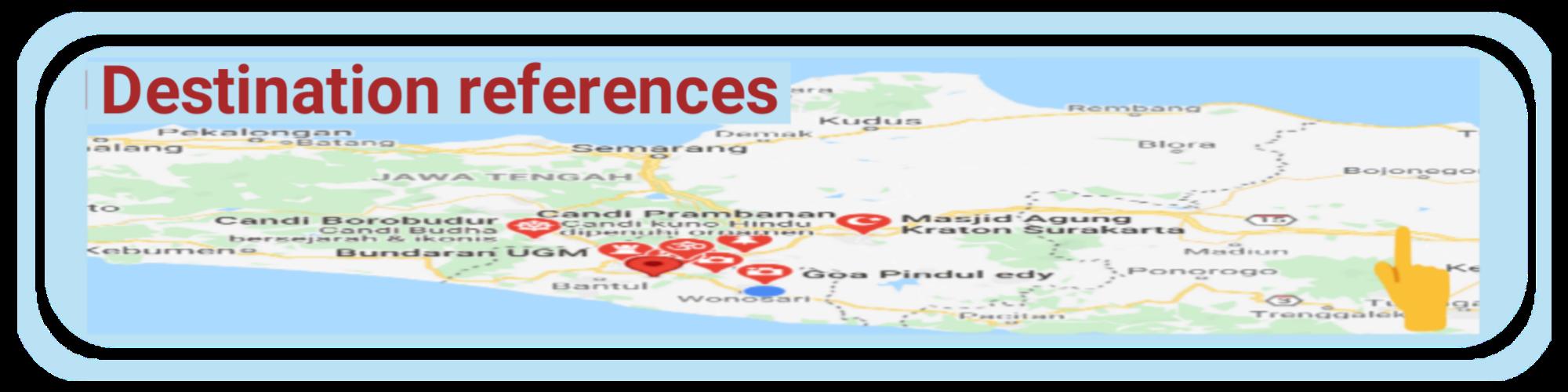 map wisata